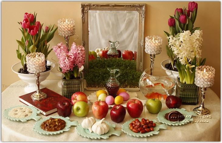 متن زیبا تبریک عید نوروز